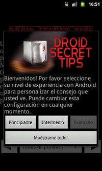 Droid Secret Tips espanol 1